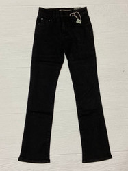 Tractr Black Mid Rise Boot Cut Jean