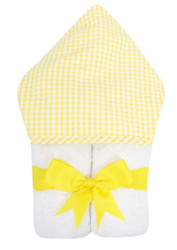 3 Marthas Yellow Check Everykid Towel