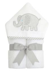 3 Marthas Gray Elephant Everykid Towel