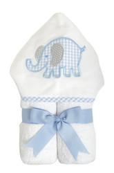 3 Marthas Blue Elephant Everykid Towel