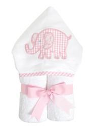 3 Marthas Pink Elephant Everykid Towel