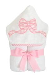 3 Marthas Pink Bow Everykid Towel