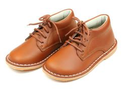 Lamour Tuck Cognac Lace Up Shoe