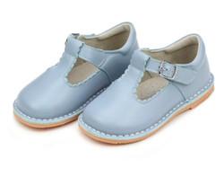 Lamour Selina Dusty Blue Scallop T-Strap MaryJane