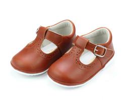 Lamour Gemma Cognac T-Strap Shoe