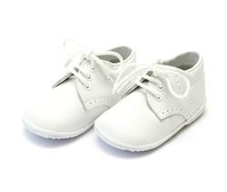 Lamour James White Lace Up Shoe