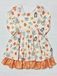 Evie's Closet Fall Cafe/Halloween Rev. Dress