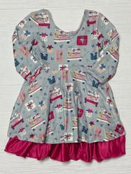 Evie's Closet Christmas/Valentines Rev. Dress