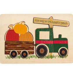 MudPie Tractor Pumpkin Puzzle