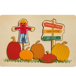 MudPie Scarecrow Pumpkin Puzzle