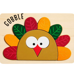 MudPie Gobble Turkey Puzzle