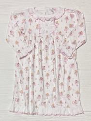 Baby Loren Pink Ballerinas Pima Nightgown