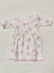 Baby Loren Pink Ballerinas Pima DOLL Nightgown