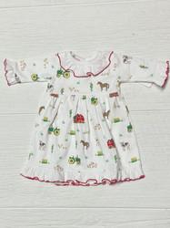 Baby Loren Farming Girl Pima DOLL Nightgown