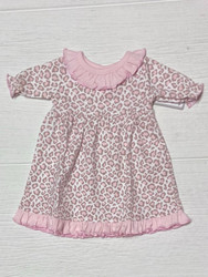 Baby Loren Cheetah Print Pima DOLL Nightgown
