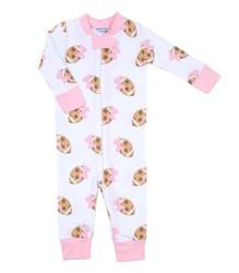 Magnolia Baby Pink Touchdown Zipper PJ