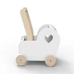 White Essential Pram Doll Stroller