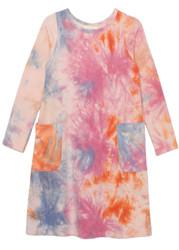 Mabel & Honey Pink Sunrise Yoga Knit Dress