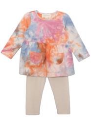 Mabel & Honey Pink Sunrise Yoga Knit Set
