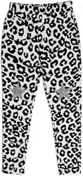 Mia White Leopard Sweatpant