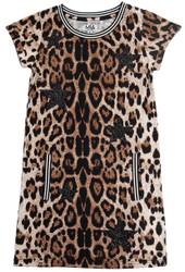 Mia Leopard Star Dress
