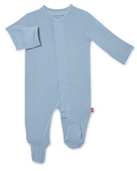 Magnificent Baby Cool Blue Footie