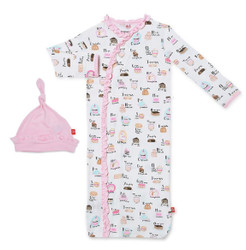 Magnificent Baby Cake My Day Gown & Hat