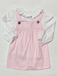 True Pink Collar Dress