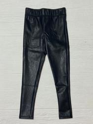 Tractr Black Pleather Legging