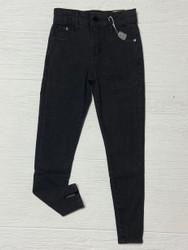 Tractr Black Slit Hem Skinny Jean