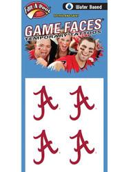 University of Alabama Water Game Faces