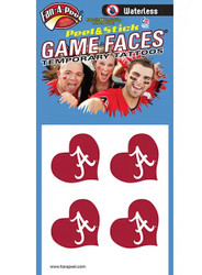 University of Alabama Game Faces