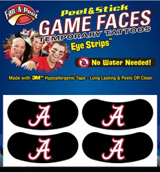University of Alabama Eye Strips