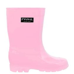 Roma Kids Pink Rainboots