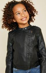 Hayden Black Pleather Jacket