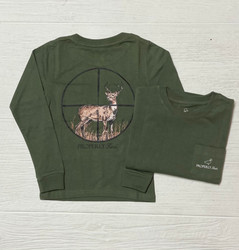 Properly Tied Olive Scope L/S Tee