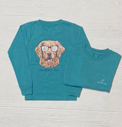 Properly Tied Emerald Cool Dog L/S Tee