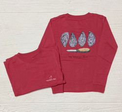 Properly Tied Cabernet Oysters L/S Tee