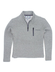 Properly Tied Heather Grey Delta Pullover