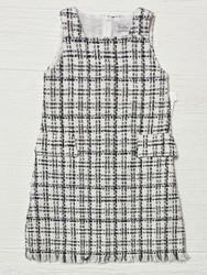 Gabby Black Twiggy Tweed Dress