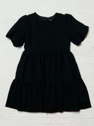 Gabby Black Tilly Tiered Dress