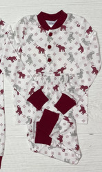 Ishtex Crimson Elephant Boys PJ Set