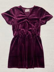For All Seasons Plum S/S Dress