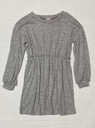 For All Seasons Grey Brushed L/S Dress