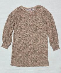 For All Seasons L/S Leopard Dress