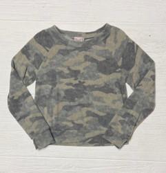 For All Seasons Fleece Camo Top