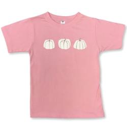Honey Bee Tees Pink Pumpkin Trio Tee