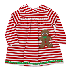 Bailey Boys Gingerbread Treats Knit Dress
