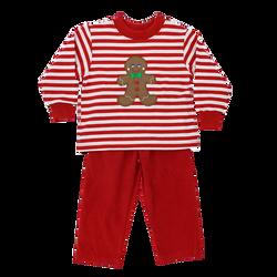 Bailey Boys Gingerbread Treats Boys Pant Set