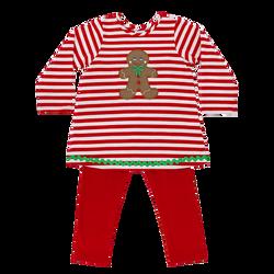 Bailey Boys Gingerbread Treats Knit Tunic Set